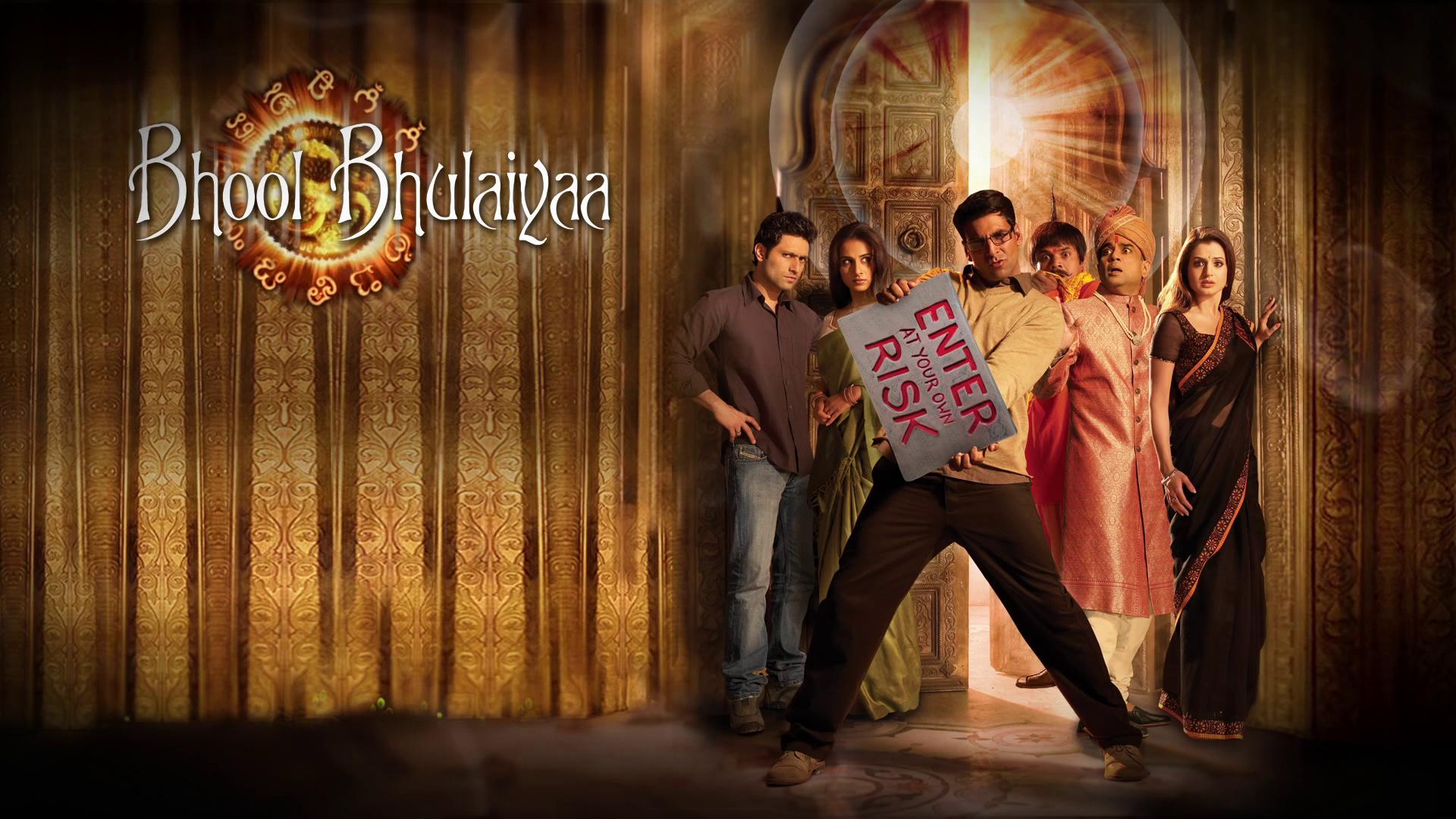 Bhool Bhulaiyaa 2007 Hindi Akshay Kumar & Vidhya Balan